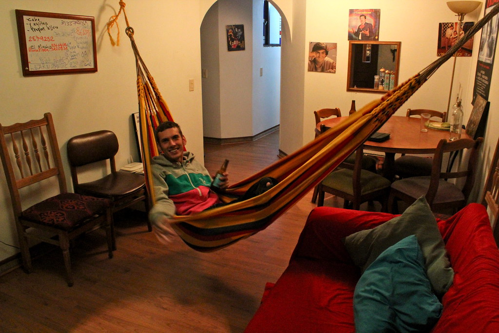 living room, hammock time. | duncan9 | flickr