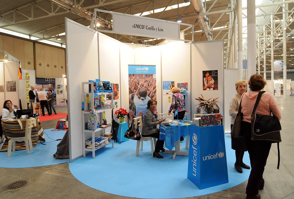Exhibition Stand Terms And Conditions : Dsc stand unicef feria de valladolid flickr