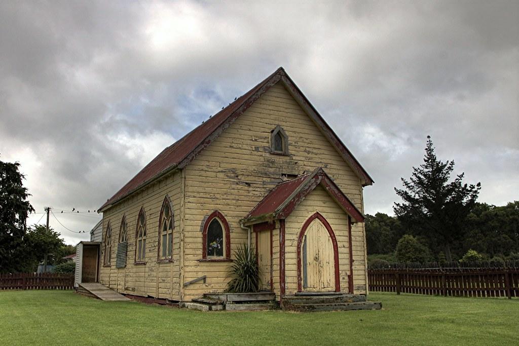 Old Church Waharoa Waikato New Zealand Gospel