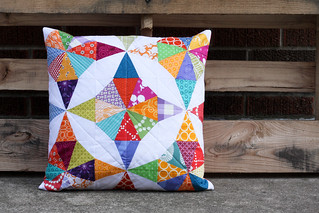 Kaleidoscope Pillow | by Jeni Baker | In Color Order
