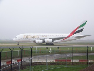 Emirates Airbus A380 (A6-EDS) - Side Profile | by MCPCShowcaseHD