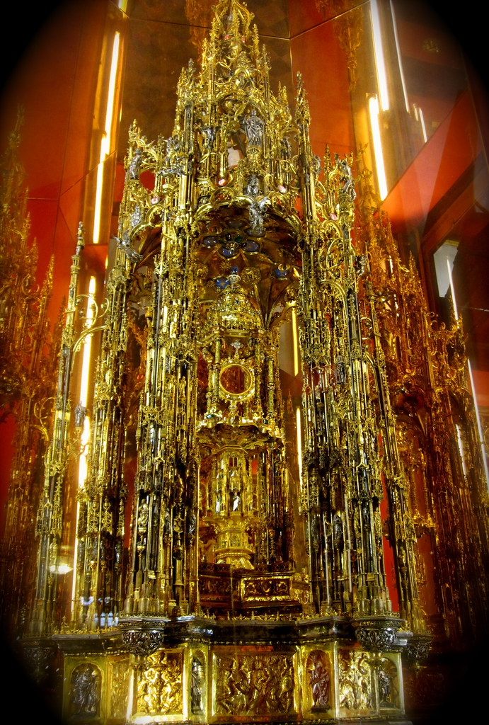 Used >> The Great Monstrance of Arfe | 9 feet tall. A monstrance is … | Flickr
