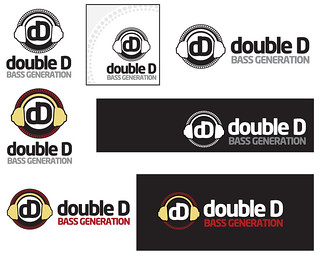 double D Bass Generation Logos | by ZDCA Design & Development
