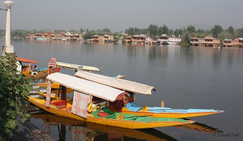 Shikara in Dal Lake | by Sreejith R Krishnan
