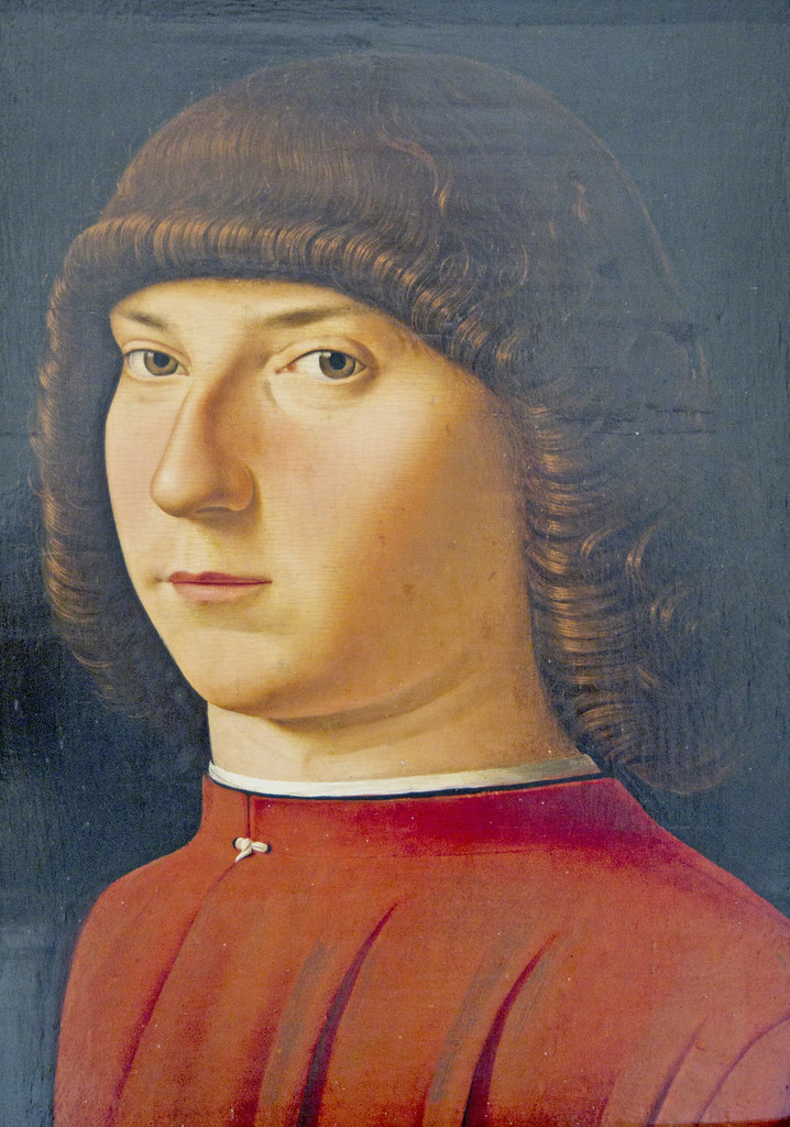Antonello da Messina Portrait of a Man Antonello da Messina
