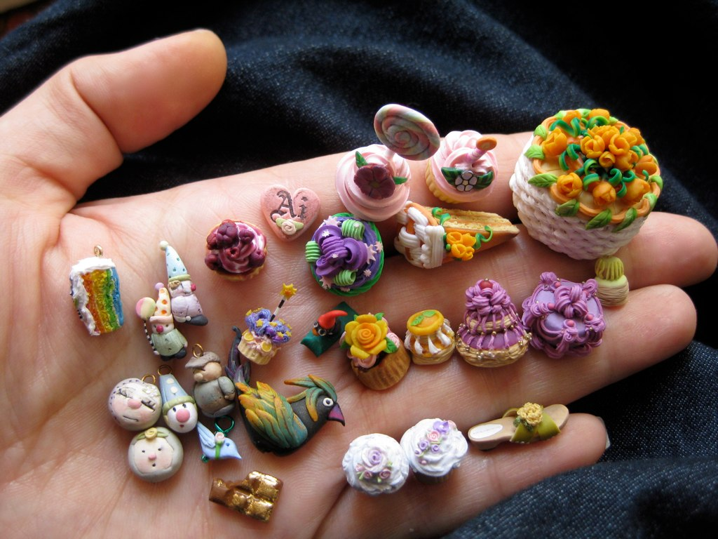 100 polymer clay miniatures no silicone no air dry flickr