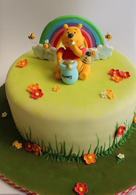 Cake Design Winnie The Pooh : Winnie the Pooh Birthday Cake Flickr - Photo Sharing!