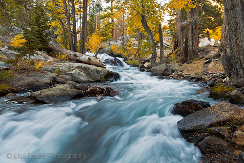 eastern sierra waterfall | by Lisa Fiedler