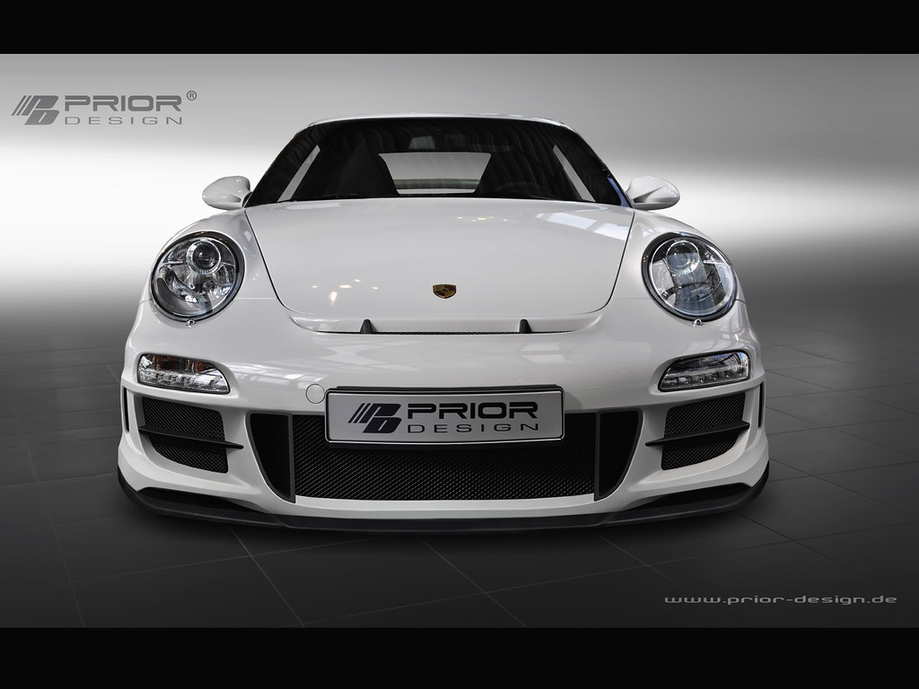 Porsche 997 2 Gt3 Full Body Kit Front Bumper With Front L