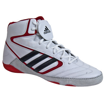 Adidas-MatWizardIV-WrestlingShoes-WhiteRed-2 | by wrestlinggear