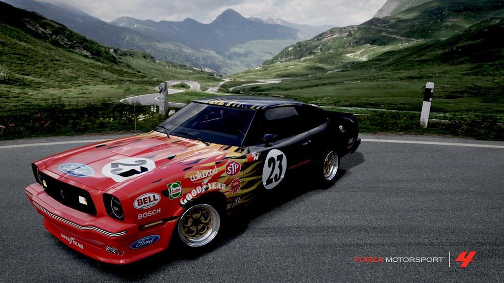 Image Of Ford Mustang Cobra Race Car Ford Mustang Cobra Racecar 1997