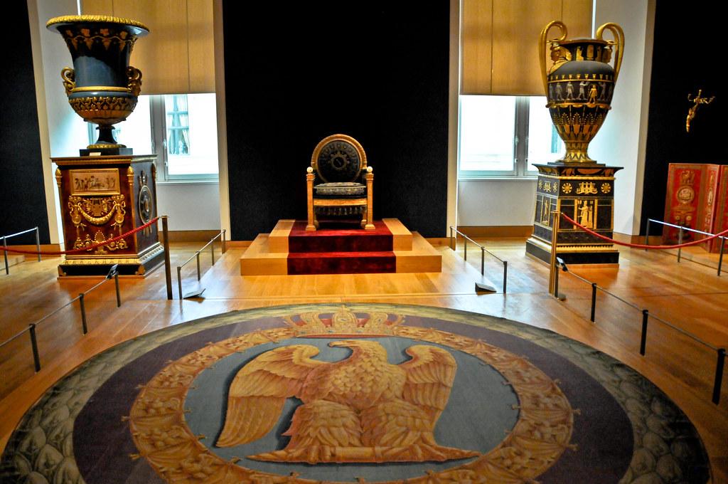 Napoleon Reception Room At Louvre Royal Palace Apartments