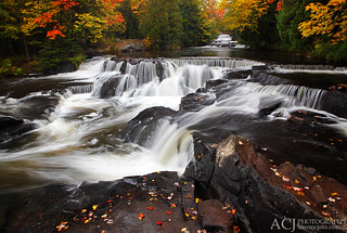 Collectively Falling - Bond Falls (Bond Falls State Park - Upper Michigan) | by Aaron C. Jors