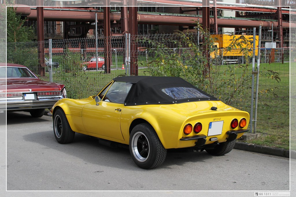 1971 - 1973 Opel GT-J Custom Build Roadster (03) | The Opel … | Flickr