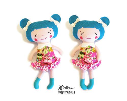 Kawaii cute doll sewing pattern   Blogged: dollsanddaydreams…   Flickr