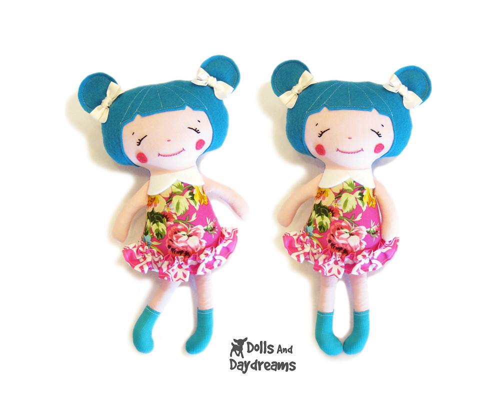Kawaii cute doll sewing pattern | Blogged: dollsanddaydreams… | Flickr