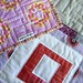 Baby Makes Three Quilt, back