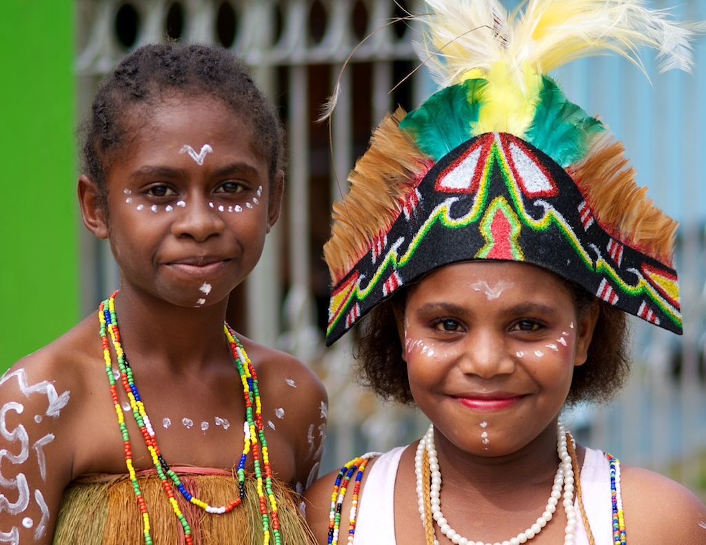 papua girls