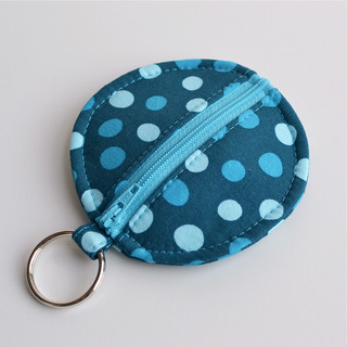 Circle Zip Earbud Pouch | by yorkiemischief