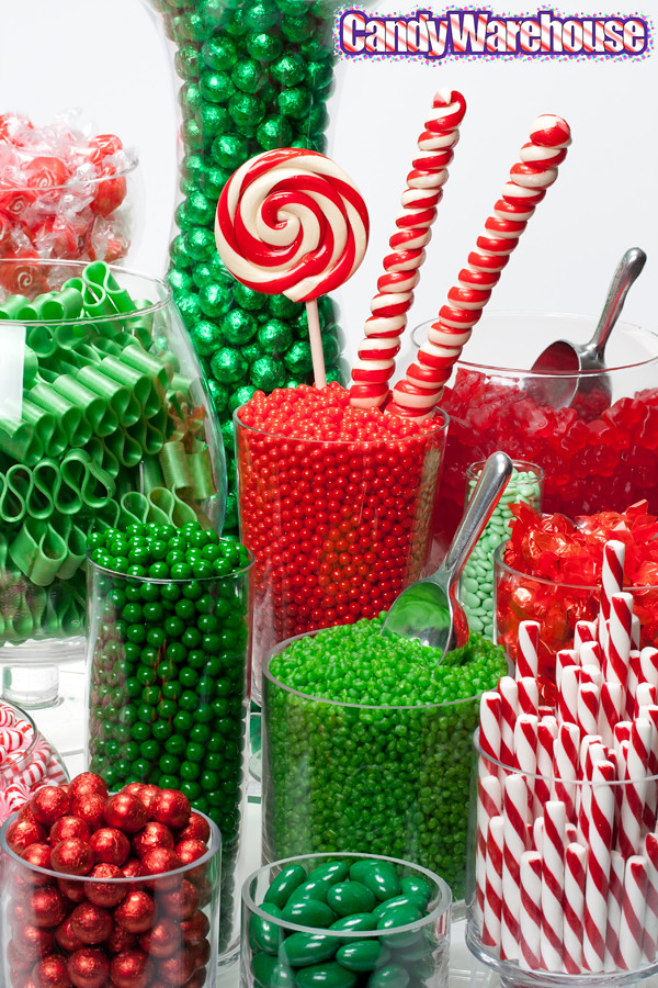 Christmas Candy Buffet | Add a sweet touch to your holiday ...