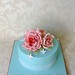 Vintage Roses Birthday Cake for Claire