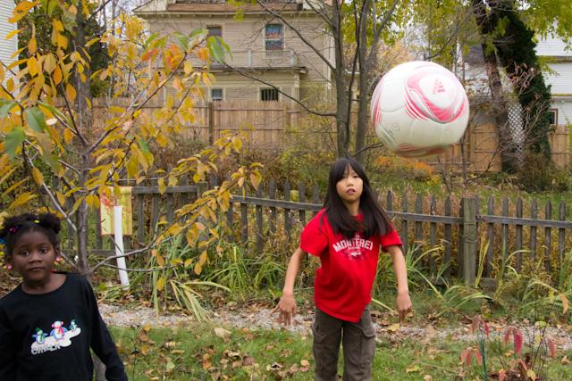 backyard soccer practice november 13 2011 8 steven