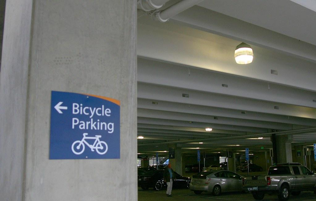 San Jose Mineta Airport Bike Parking Inside The Big