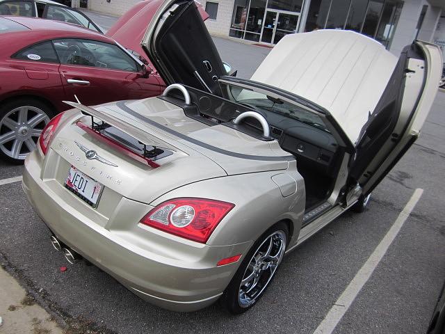 2006 Chrysler Crossfire Convertible Chrysler Product