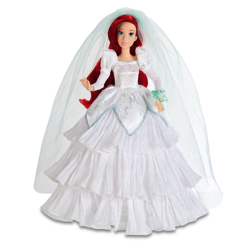 Disney Once Upon A Wedding Ariel Doll High Resolution
