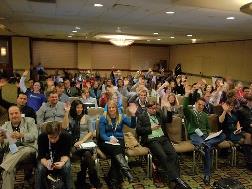 SES Chicago Audience for TopRank Online Marketing presentation on Social, SEO & Content Marketing | by toprankonlinemarketing