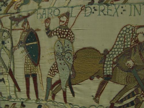 Bayeux 13 mus e de la tapisserie de bayeux death of haro - Qu est ce que la tapisserie de bayeux ...