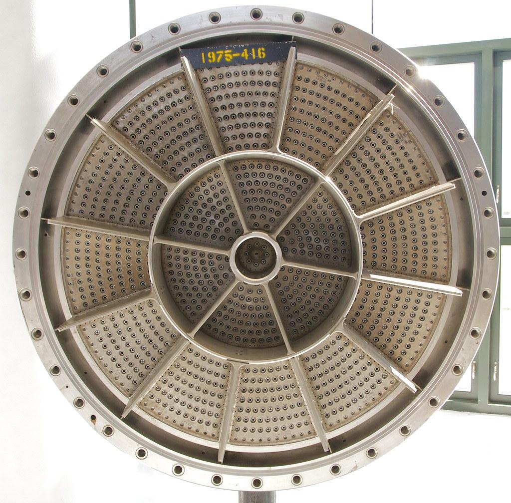 Liquid Hydrogen M-1 Rocket Engine Inje...