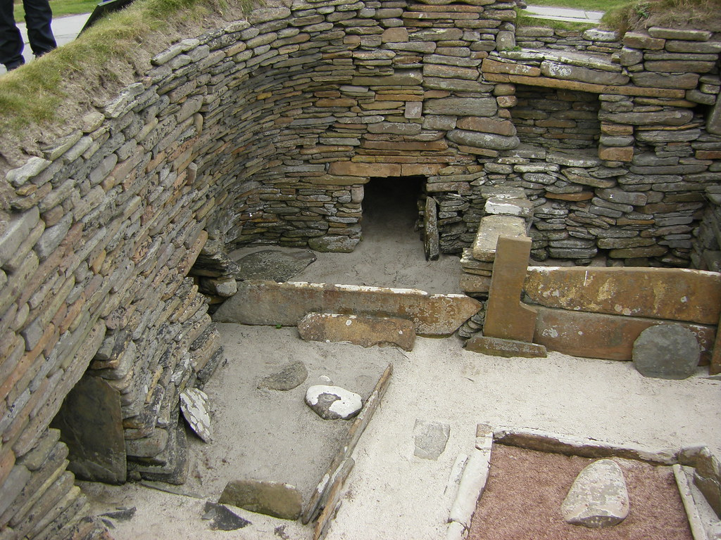 By Gordontour Neolithic Dwelling Orkney
