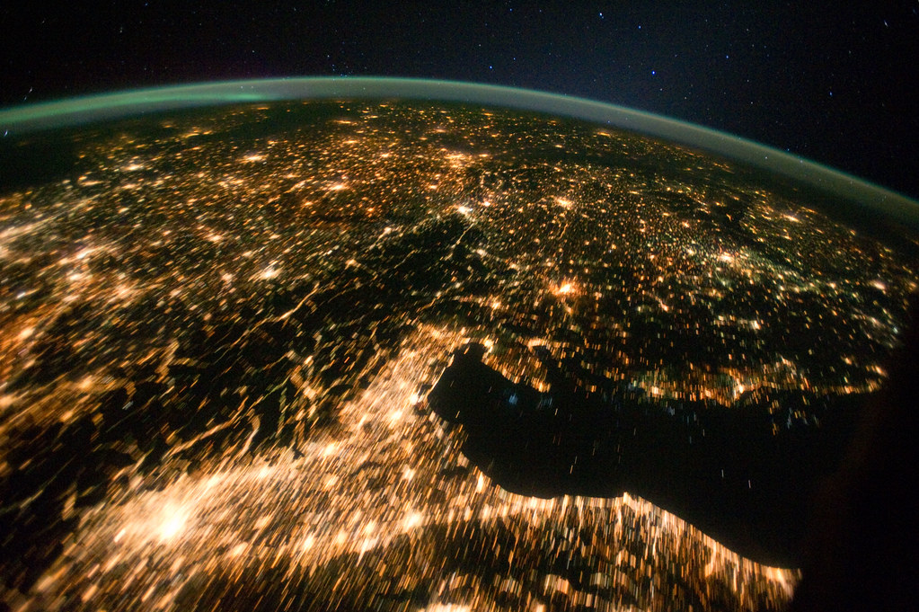 Central and Eastern Europe at Night (NASA, International S ...