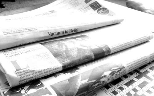 Newspapers B&W (1) | by NS Newsflash