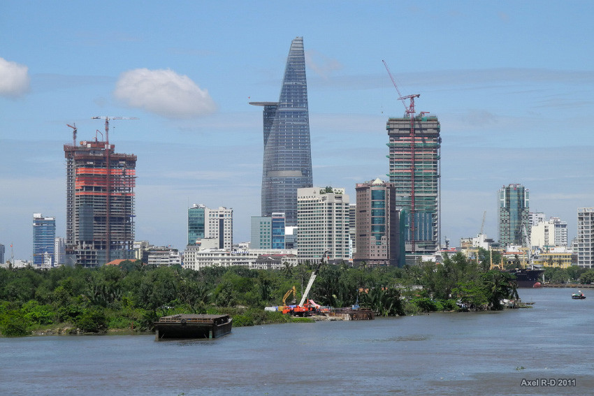 Ho Chi Minh City Skyline Axel Drainville Flickr