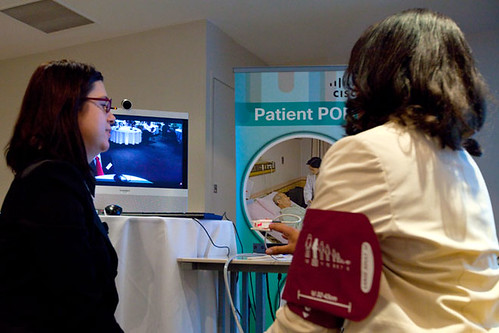 Telehealth demonstration | by CiscoANZ