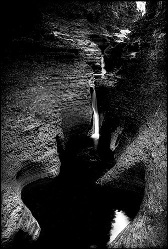 Watkins Glen Gorge ~ N.Y. | by Richard Terpolilli