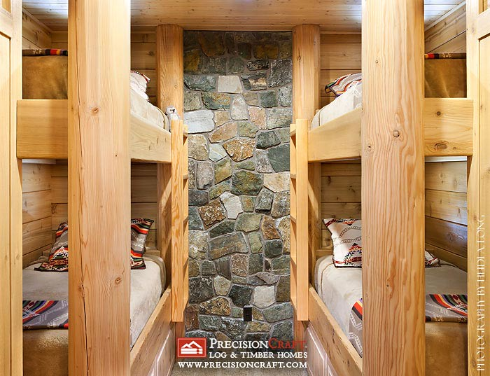 Log Bunk Bed Designs