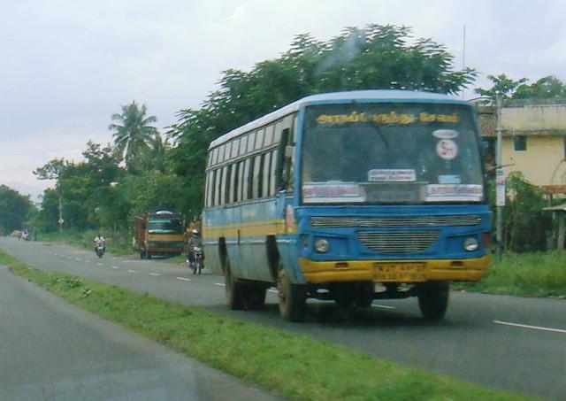 salem town bstharamangalam city bus flickr photo