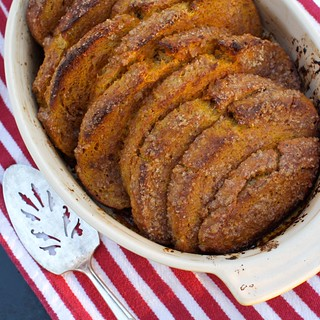 Baked Pull-Apart Pumpkin French Toast | by Aimee @ Simple Bites