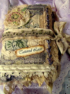 Front cover of Tattered Lace Journal | by suziqu