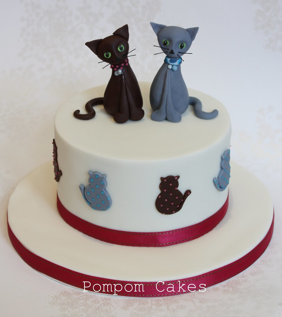 Cakes For Cats With Icing