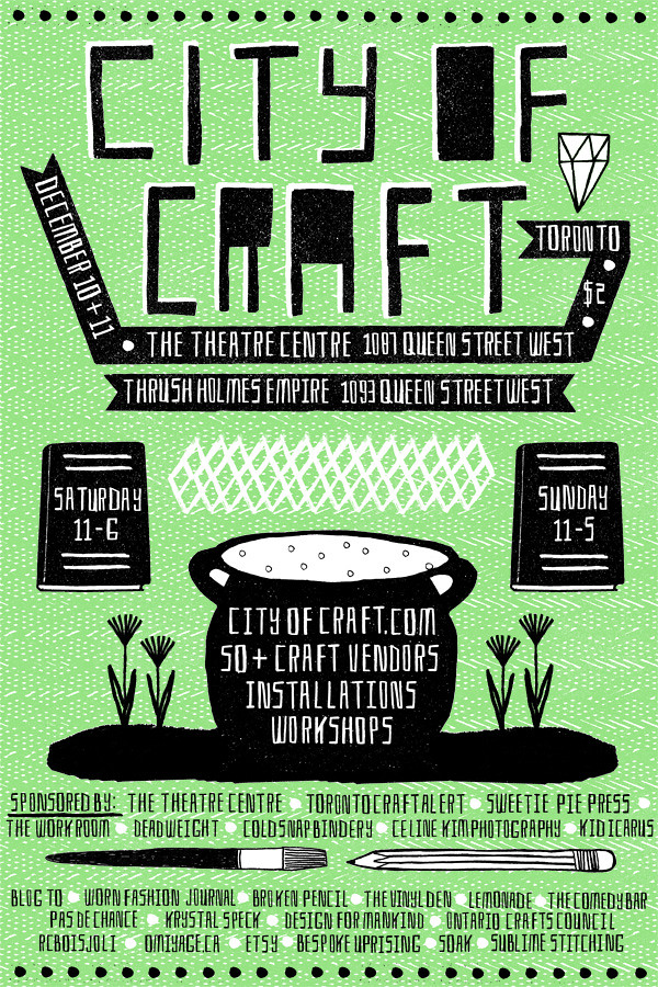 City of Craft 2011 | City of Craft 2011 Poster Design by ...