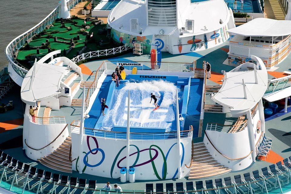 Royal Caribbean Freedom Of The Seas Flowrider