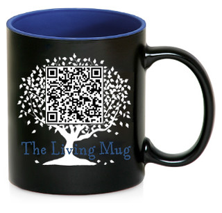 QR Code Mug with Changing Quotes! | by TheLivingMug