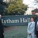 Len, Brenda & Tim outside Lytham Hall