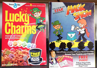 1987 General Mills Lucky Charms Cereal Box Magic Tricks | by gregg_koenig