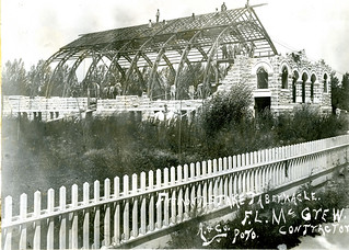 #102 Tabernacle 1911consturction | by Rexburg Historical Society