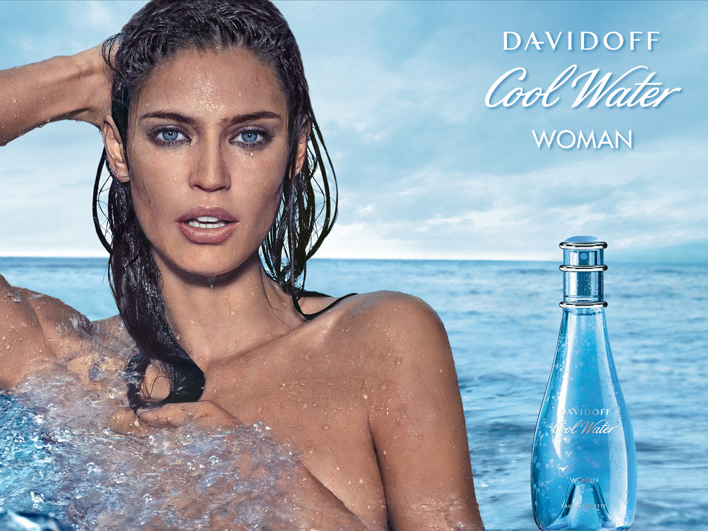 Perfume And Water Tattoo: Zino Davidoff - Cool Water Woman Wallpaper HD